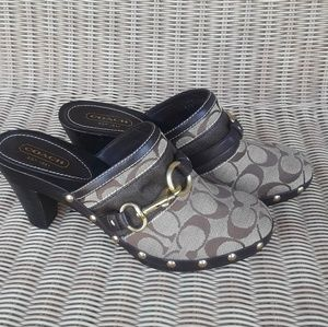 Womens studded mules